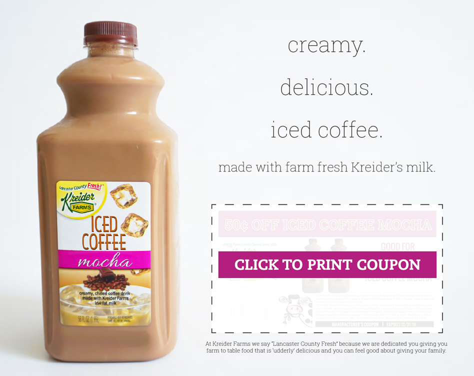 Kreider Farms Iced Coffee Lozo Com